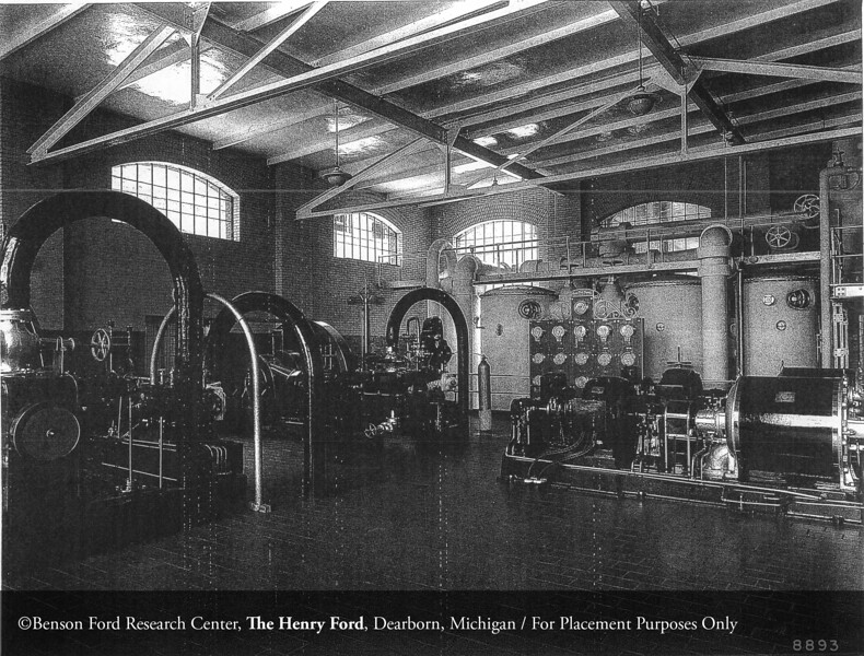 The Henry Ford Hospital Power Plant, c.1920. From the Collections of The Henry Ford. THF117463 (core)