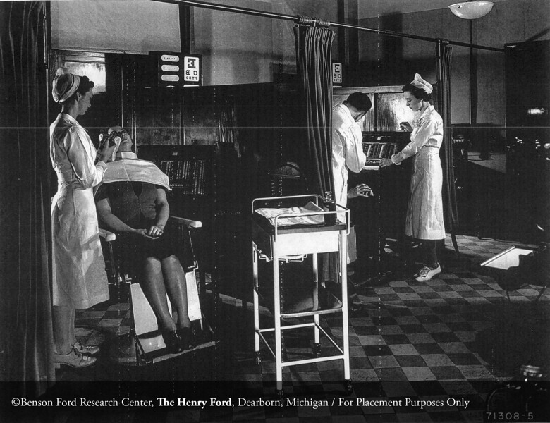 The Henry Ford Hospital Department of Eye, Ear, Nose and Throat, 1939. From the Collections of The Henry Ford. THF117511 (core)