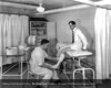 The cast room in the Department of Orthopedics in 1946. From the Collections of The Henry Ford. THF117551 (core)