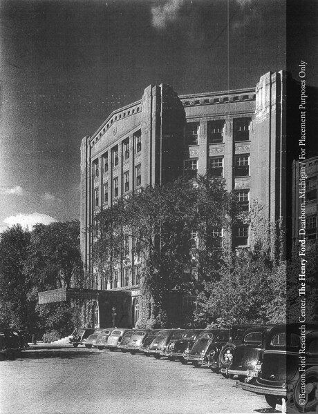 Henry Ford Hospital, c.1937. From the Collections of The Henry Ford. THF117421 (core)
