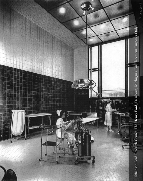 The Surgical Pavilion operating room, 1939. From the Collections of The Henry Ford. THF117508 (core)
