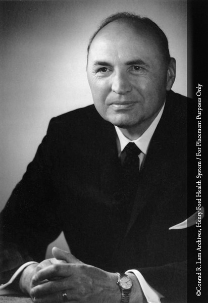 Dr. Brock Brush, Department of Surgery, c.1965. From the Conrad R. Lam Collection, Henry Ford Health System. ID=03-035