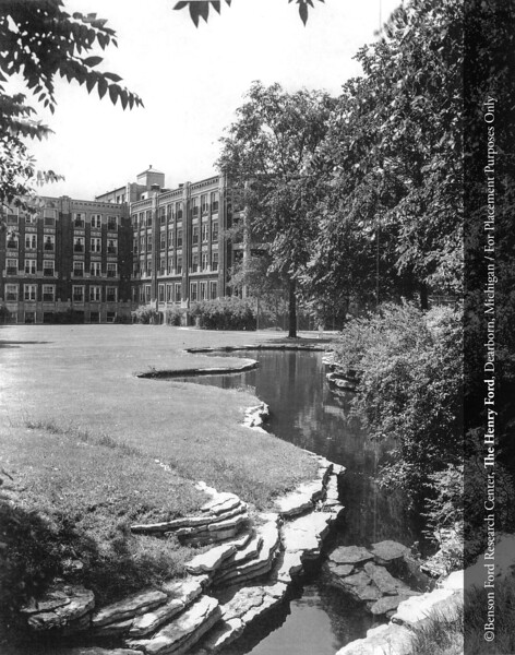 Henry Ford Hospital, c.1931. From the Collections of The Henry Ford. THF117539 (core)