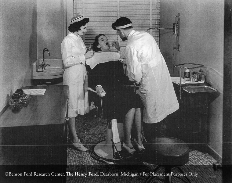 The Henry Ford Hospital Dentistry Department, c.1940. From the Collections of The Henry Ford: Acc. 833, Box 17, P833.74251