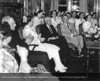 Henry Ford, Clara Bryant Ford, Elizabeth Moran, R.N. and Dr. Roy D. McClure at the Henry Ford Hospital School of Nursing and Hygiene graduation in 1945. From the Collections of The Henry Ford: Acc. 1660, Box 117, P833.819032