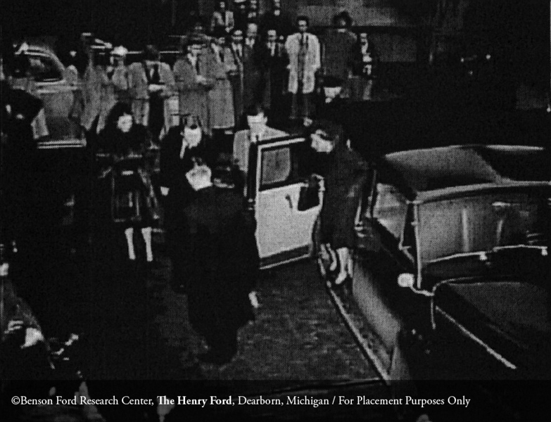 Henry Ford's funeral in Detroit on April 10, 1947. From the Collections of The Henry Ford: Acc. 833, Box 41A, P833.84160.60