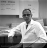 Dr.  Ziegler in his office, October 20, 1959. From the Conrad R. Lam                                                       Collection, Henry Ford Health System. ID=04-051