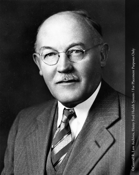 Dr. John K. Ormond. From the Conrad R. Lam Collection, Henry Ford Health System. ID=04-045