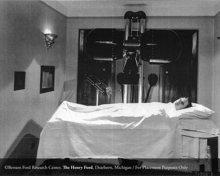 The Henry Ford Hospital Department of Roentgenology in 1946. From the Collections of The Henry Ford. THF117505 (core)