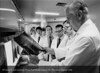 Dr. Robert Knighton and Neurology staff, 1974. From the Conrad R. Lam Collection, Henry Ford Health System. ID=05-031