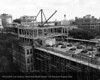 Construction of two floors to Henry Ford Hospital, 1957. From the Conrad R. Lam Collection, Henry Ford Health System. ID=05-018