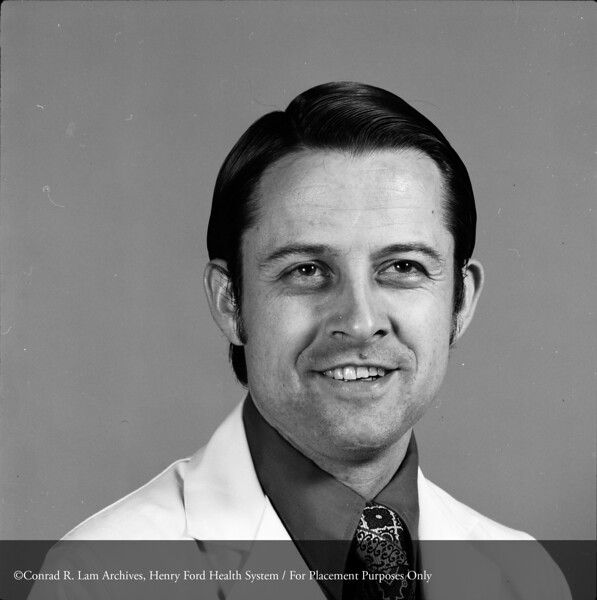 Dr. Paul Kvale, c.1960. From the Conrad R. Lam Collection, Henry Ford Health System. ID=05-015