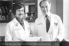 Drs. Paul Kvale & E. Osborne Coats, Jr. From the Conrad R. Lam Collection, Henry Ford Health System. ID=05-051 (Credit: Richard Hirneisen, Royal Oak, Michigan)