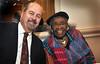 93865_008<br /> HFHS Retiree Christmas Party, Bob Riney, Wilma Gandy, 2012