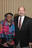 93865_023<br /> HFHS Retiree Christmas Party, Bob Riney, Wilma Gandy, 2012