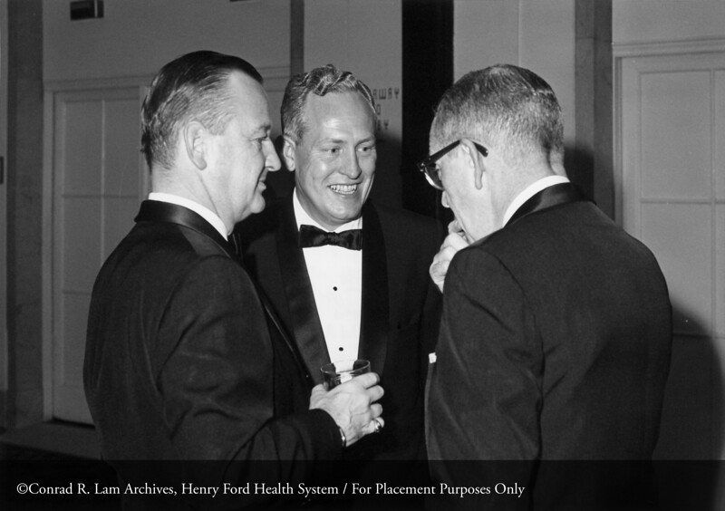 HFH 50th Anniversary. From the Conrad R. Lam Collection, Henry Ford Health System. ID=06-019