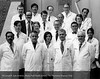 The HFH Pathology staff, 1972. From the Conrad R. Lam Collection, Henry Ford Health System. ID=06-010