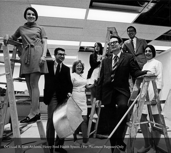 The Troy Satellite, 1973. From the Conrad R. Lam Collection, Henry Ford Health System. ID=06-006