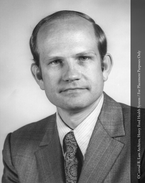 Thomas Smith, c.1977. From the Conrad R. Lam Collection, Henry Ford Health System. ID=07-021