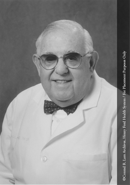 Dr. Charles Wolf. From the Conrad R. Lam Collection, Henry Ford Health System. ID=07-036