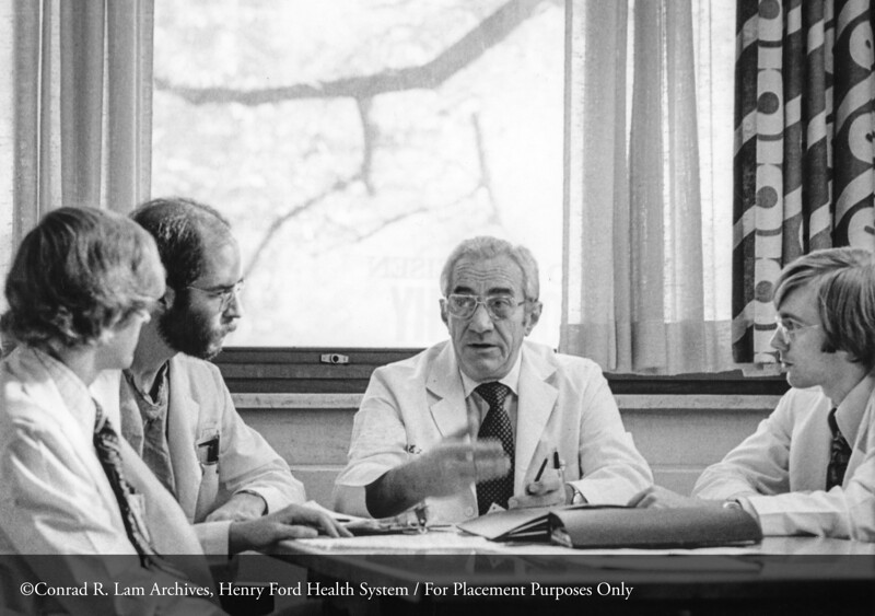 Dr Quinn. From the Conrad R. Lam Collection, Henry Ford Health System. ID=07-030 (Credit: Richard Hirneisen, Royal Oak, Michigan)
