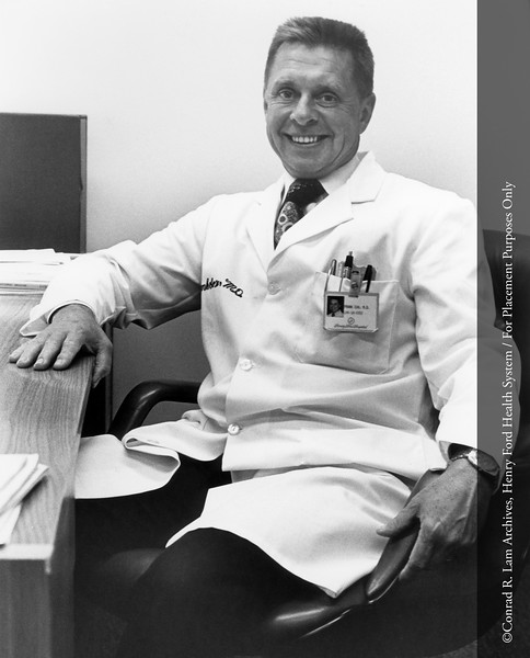 Frank Cox, M.D. From the Conrad R. Lam Collection, Henry Ford Health System. ID=07-039