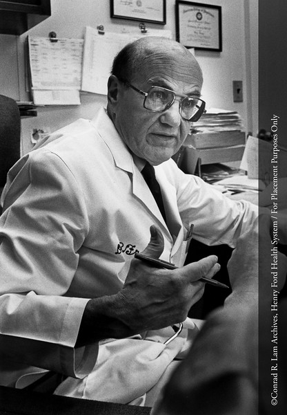 Dr. Boy Frame. From the Conrad R. Lam Collection, Henry Ford Health System. ID=07-033