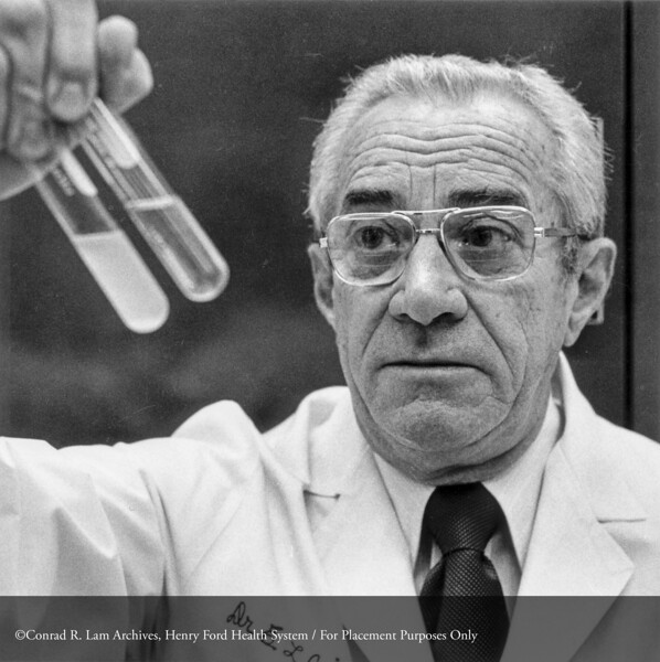 Dr. Quinn. From the Conrad R. Lam Collection, Henry Ford Health System. ID=07-029