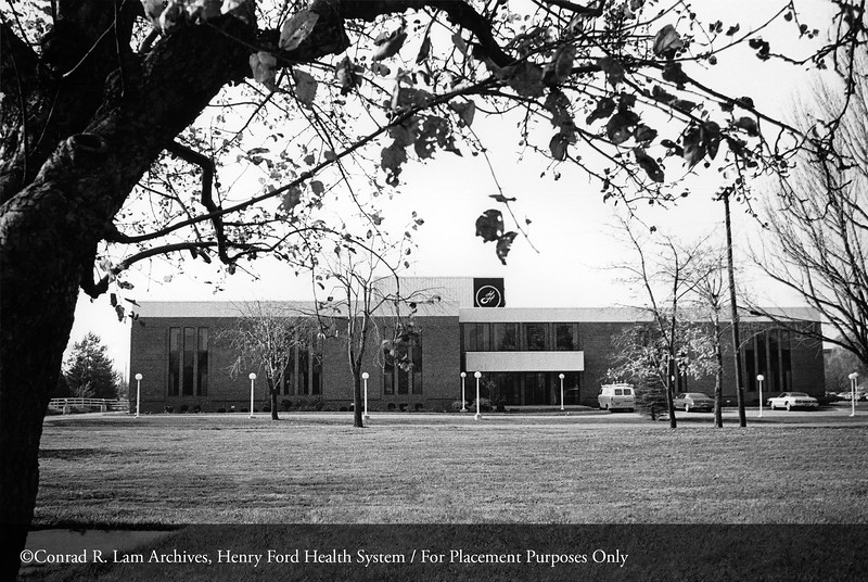 The Troy Medical Center, 1973. From the Conrad R. Lam Collection, Henry Ford Health System. ID=07-019