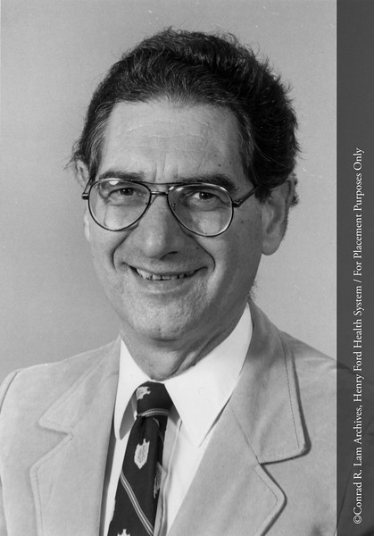Dr. L. Weiss. From the Conrad R. Lam Collection, Henry Ford Health System. ID=08-052