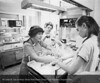 Wanda Szymanski, R.N. and Dr. Vanessa Robinson in NICU, 1977. From the Conrad R. Lam Collection, Henry Ford Health System. ID=07-015