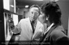 Dr. Sidney Goldstein of the Department of Cardiology in consultation, c.1980. From the Conrad R. Lam Collection, Henry Ford Health System. ID=08-027