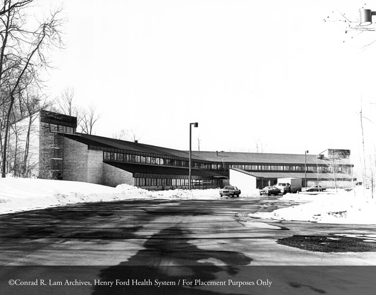 The Maplegrove Treatment Center, 1981. From the Conrad R. Lam Collection, Henry Ford Health System. ID=09-010
