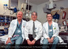 Drs. Richard Nowak, Michael Tomlanovich and Enrique Enriquez, c.1990. From the Conrad R. Lam Collection, Henry Ford Health System. ID=09-044