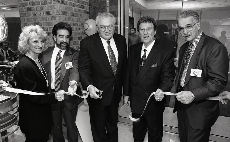 101494_134  <br /> Marian Ilitch, Steve Vellick, Gail Warden, Mike Ilitch,  Bernie Starkey,  LITTLE CEASARS VIP PARTY, 1994