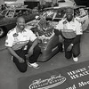 101494_626<br /> ERNEST SAWYER, RODNEY SAWYER, RACE CAR AT AUTORAMA, DETROIT, COBO HALL