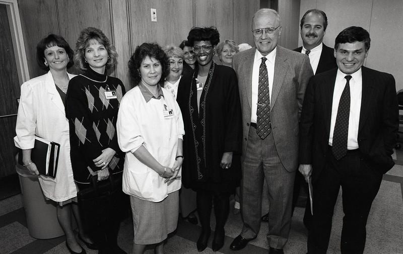 101494_347<br /> CONGRESSMAN DINGLE VISITS WYANDOTTE, Bob Riney, Bill Alvin,1995