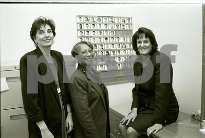 101494B_022 MEDICAL EDUCATION I.D. BOARD: SYLVIA ROYALS, MARIE SPARRER, DONNA KENDRICK, 1997