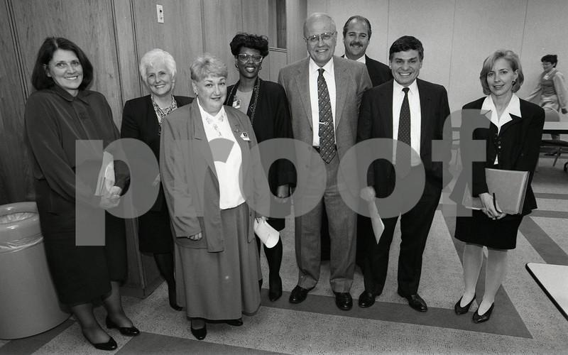 101494_348 CONGRESSMAN DINGLE VISITS WYANDOTTE, Bob Riney, Bill Alvin, 1995