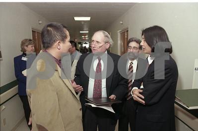 101494B_004 JINGSHENG WEI W/ SENATOR CARL LEVIN AND STEVE VELICK, 1997