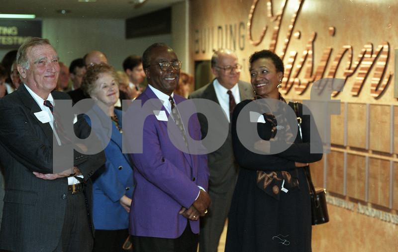 101494_356 Doug McClure, Walter and Rhea Douglas, DONOR WALL Dedication, 1995