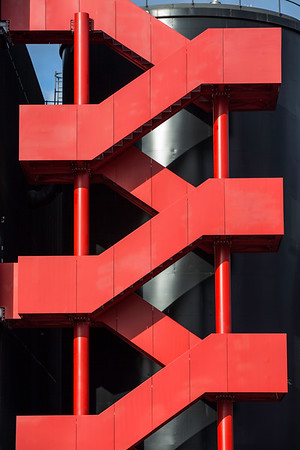 Modern architecture of former Olympic Park, London, United Kingdom