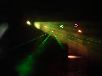 laser looks like its coming at ya'