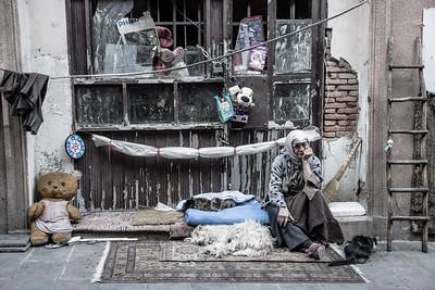 The Cat Lady, Tbilisi, Georgia