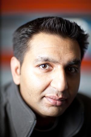 Mayur Patel, Staff portrait, Alias Hire, Hackney Wick, London, United Kingdom