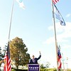 Kristi Garabrandt — The News-Herald <br> Former New York City Mayor Rudy Giuliani talks about moving America up where it belongs while speaking to Trump Supporters in Willoughby.