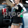 Sam Buckner for Shaw Media.<br /> A Cheerleader cheers during the parade on Wednesday October 4, 2017.