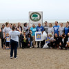 Jonathan Tressler — The News-Herald <br> The volunteers at the Headlands Beach Clean-Up ham it up for some smart-phone snapshots after collecting 24 pounds of litter in just over an hour Oct. 6 at Headlands Beach State Park in Painesville Township.