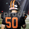 Sam Buckner for Shaw Media.<br /> Luke Freeman stands on the sidelines before the game on Friday October 6, 2017.