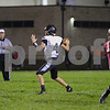 Kaneland quarterback Jack Douglas throws the ball Friday in the Knights' 20-14 win against Morris.